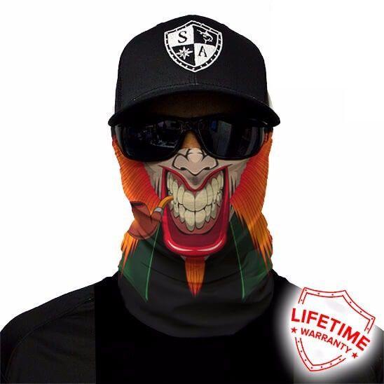 Bandana Balaclava Face Shield Leprechaun