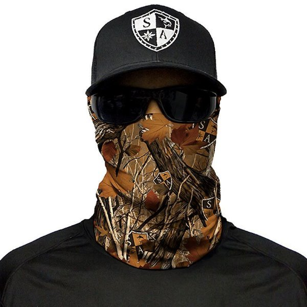 Bandana Balaclava Face Shield Floresta - Camuflagem de Floresta