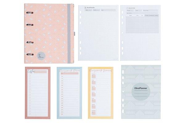 Kit Super Organizado + (1 ArqPlanner+  + 1 Kit 5 ObraPlanners + 1 Kit Atas + 1 Kit Planejamento)