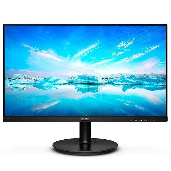 MONITOR 23.8 LED 242V8A VGA|HDMI|DP 1920X1080 FULL HD PHILIPS BOX
