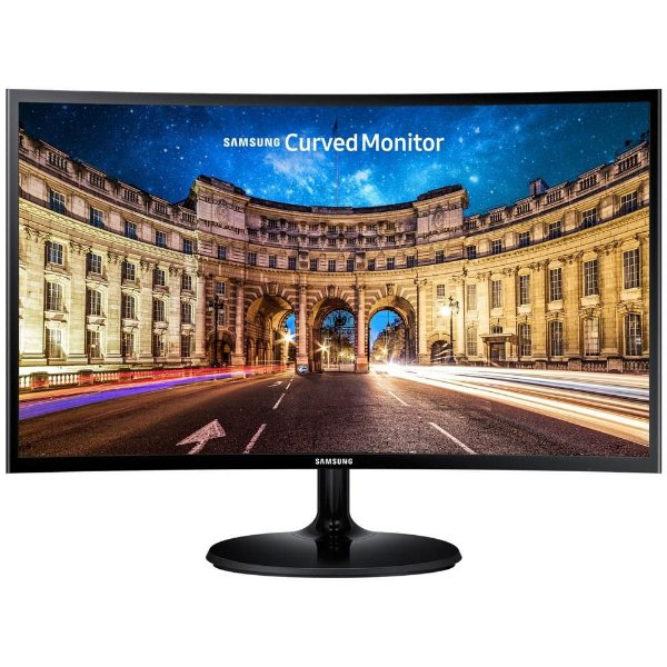MONITOR 24 LED LC24F390FHLMZD VGA/HDMI WIDESCREEN FULL HD CURVO SAMSUNG BOX