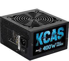 FONTE ATX 400W REAL 20/24 PINOS KCAS-400W 80 PLUS WHITE AEROCOOL BOX