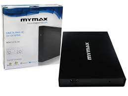 GAVETA PARA HD 2,5 MENC/25YA-BK SATA USB 2.0 PRETO MYMAX BOX