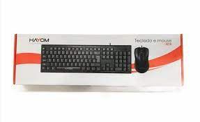 KIT TECLADO   MOUSE USB OFFICE TC 3216 HAYOM BOX
