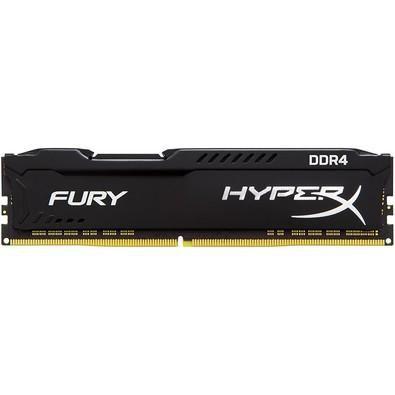 MEMORIA 16GB DDR4 2666MHZ HYPERX BLACK FURY HX426C16FB/16 KINGSTON BOX IMPORTADO