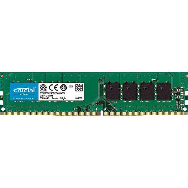 MEMORIA 4GB DDR4 2666MHZ CT4G4DFS8266 CRUCIAL BOX