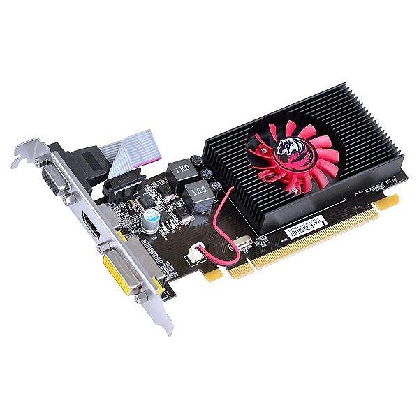 PLACA DE VIDEO 2GB PCIEXP R5 230 PA230R502D3LW 64BITS DDR3 RADEON LOW PROFILE PCYES BOX