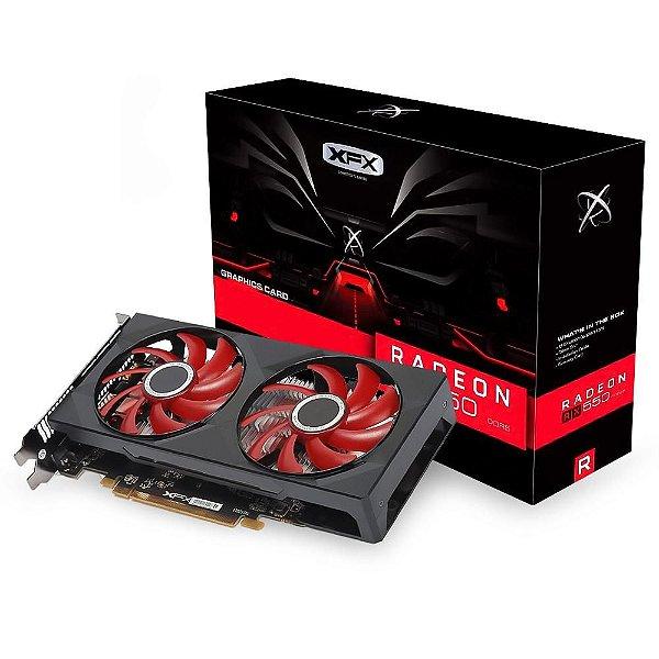 PLACA DE VIDEO 4GB PCIEXP RX 550 RX-550P4PFG5 128BITS DDR5 XFX BOX