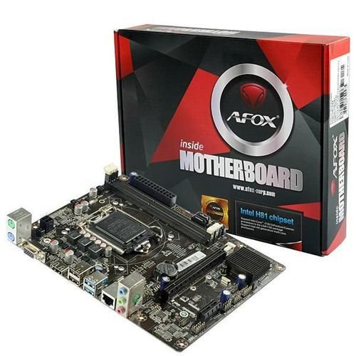 PLACA MAE 1150 MICRO ATX IH81-MA5 DDR3 VGA/HDMI AFOX BOX