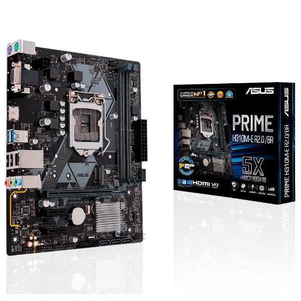 PLACA MAE 1151 MICRO ATX H310M-D DDR4 VGA, HDMI, USB3.1 PRIME ASUS BOX