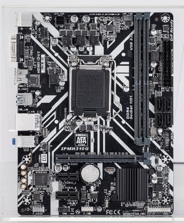 PLACA MAE 1151 MICRO ATX IPMH310G PRO DDR4 VGA/DVI-D/HDMI PCWARE BOX