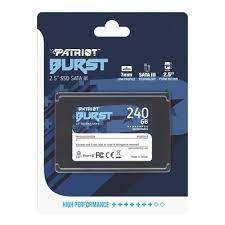 SSD 240GB SATA III BURST PBU240GS25SSDR PATRIOT BOX