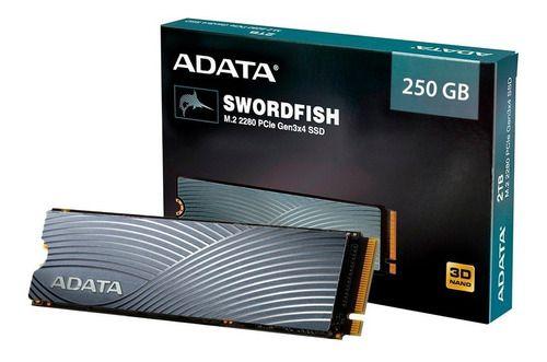 SSD 250GB NVME M.2 SWORDFISH ASWORDFISH-250G-C ADATA BOX
