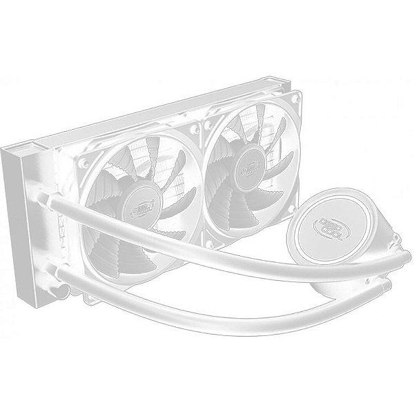 WATER COOLER DP-H12RF-GL240TW 240MM LED BRANCO GAMMAXX L240T DEEP COOL BOX