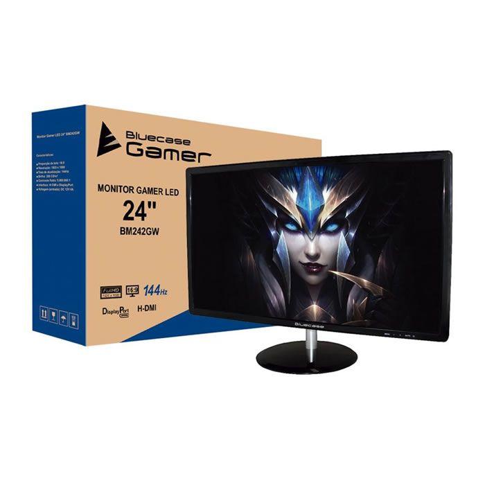 MONITOR 24 LED BM242GW HDMI | DP 1920X1080 FULL HD GAMER 144HZ BLUECASE BOX