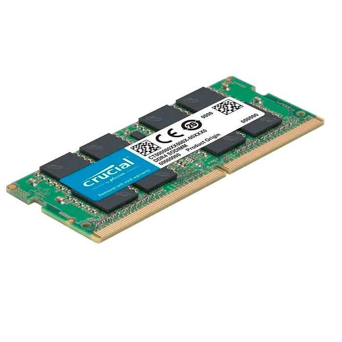 * MEMORIA 16GB DDR4 2666 MHZ NOTEBOOK CB16GS2666.C8ET CRUCIAL BOX