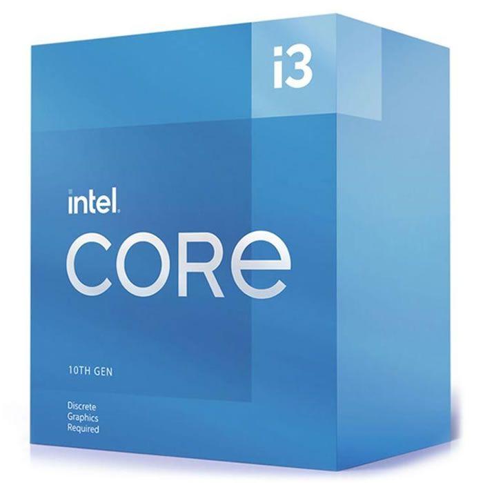 * PROCESSADOR CORE I3 1200 10105F 3.7 GHZ 6 MB CACHE COMET LAKE INTEL BOX