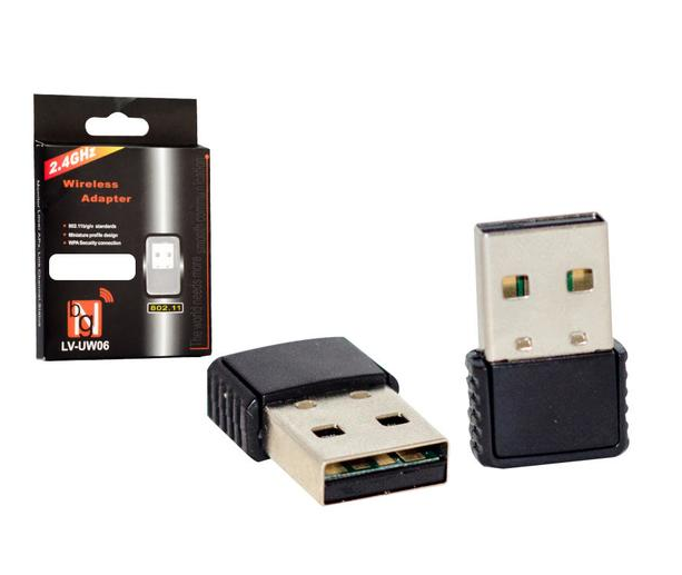 ADAPTADOR WIRELESS USB 150MBPS LV-UW06 GENERICA BOX