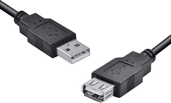 CABO USB 3M A MACHO X A FÊMEA UAMAF-3 VINIK OEM