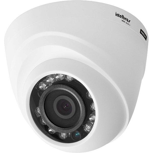 CAMERA CFTV VHD 1120 D DOME 4565255 GERACAO 4 INTELBRAS BOX