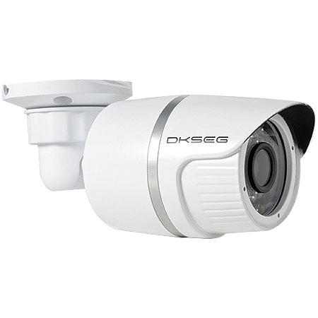 CAMERA INFRA 30 LEDS 1/4 LENTE 3.6MM AHD 720P DK218 BRANCO DKSEG BOX