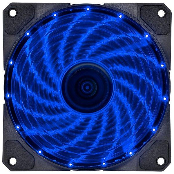 COOLER FAN P/ GABINETE 120MM VX GAMING V.LUMI LED AZUL VINIK BOX