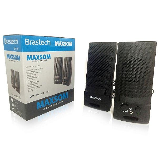 CX. DE SOM USB ZR-50 BRASTECH BOX