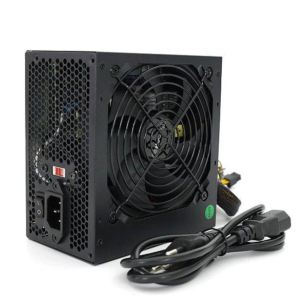 FONTE ATX 500W 20/24 PINOS FNT-500W HOOPSON BOX