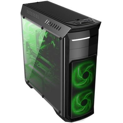 GABINETE 1 BAIA BG-110 SEM FONTE USB 3.0 GAMER COM ACRILICO BLUECASE BOX