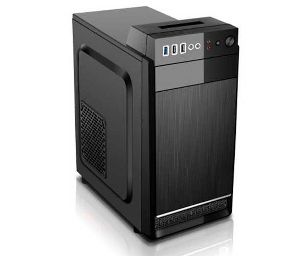 GABINETE 1 BAIA BG-2518 250W C/FONTE PRETO BLUECASE BOX