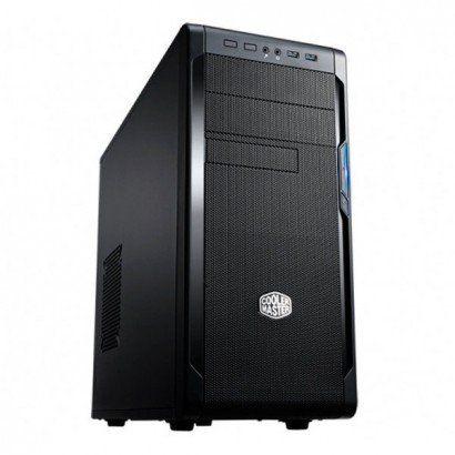 GABINETE 2 BAIAS NSE-300-KKN1 SEM FONTE PRETO COOLER MASTER BOX