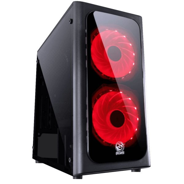 GABINETE S/ BAIA EXTERNA NOVPT7C1FCA-PT NOVA S/ FONTE LED 7 CORES PCYES BOX