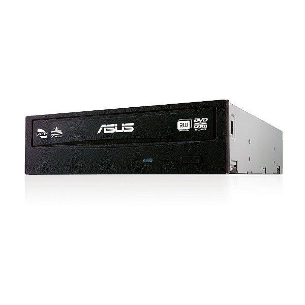 GRAVADOR DVD/CD SATA DRW-24F1MT/BLK/AS 24X ASUS BOX