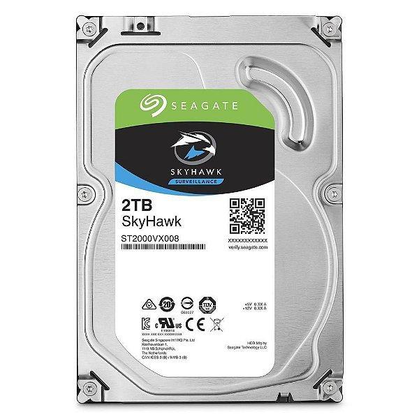 HD 2000GB SATA 3 6GB/S ST2000VX008 5400RPM 64MB SURVEILLANCE SKYHAWK SEAGATE OEM