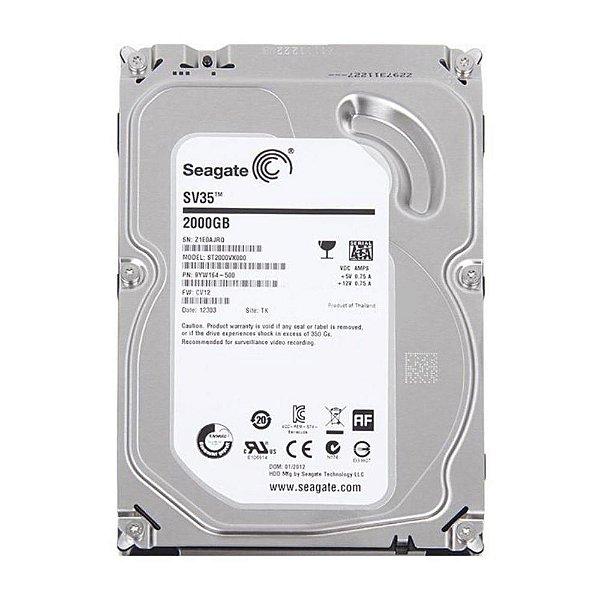 HD 2000GB SATA3 ST2000VX000 7200RPM 64MB SURVEILLANCE SEAGATE OEM