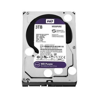 HD 3000GB SATA 6.0 GB/S WD30PURZ 5400RPM PURPLE SURVEILLANCE WESTERN DIGITAL OEM