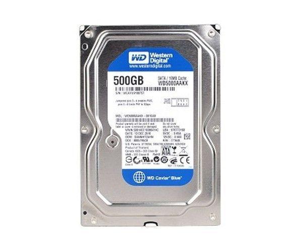 HD 500GB WD500AAKX 7200RPM 00U6AA0 WESTERN DIGITAL BOX