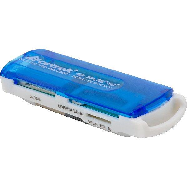 LEITOR CARTÃO EXTERNO LDC-102 USB 11 EM 1 FORTREK BOX