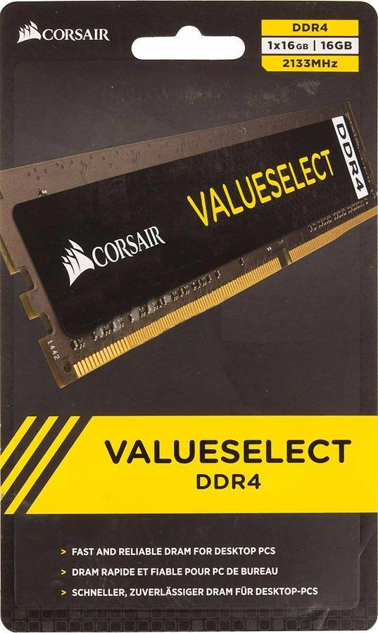 MEMORIA 16GB DDR4 2133 MHZ CMV16GX4M1A2133C15 CORSAIR BOX