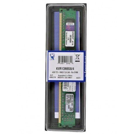 MEMORIA 4GB DDR3 1333 MHZ KVR13N9S8/4 8CP KINGSTON BOX