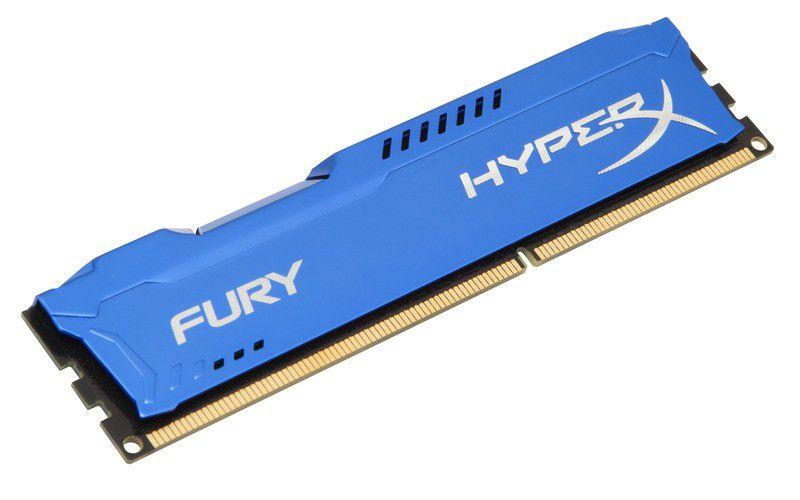 MEMORIA 4GB DDR3 1600 MHZ BLUE HYPER X HX316C10F/4 KINGSTON OEM