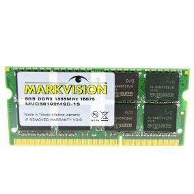 MEMORIA 8G DDR4 2400 MHZ MVD48192MSD-24 LV NOTEBOOK MARKVISION BOX