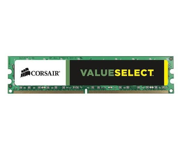 MEMORIA 8GB DDR3 1600 MHZ VALUESELECT CMV8GX3M1A1600C11 CORSAIR BOX