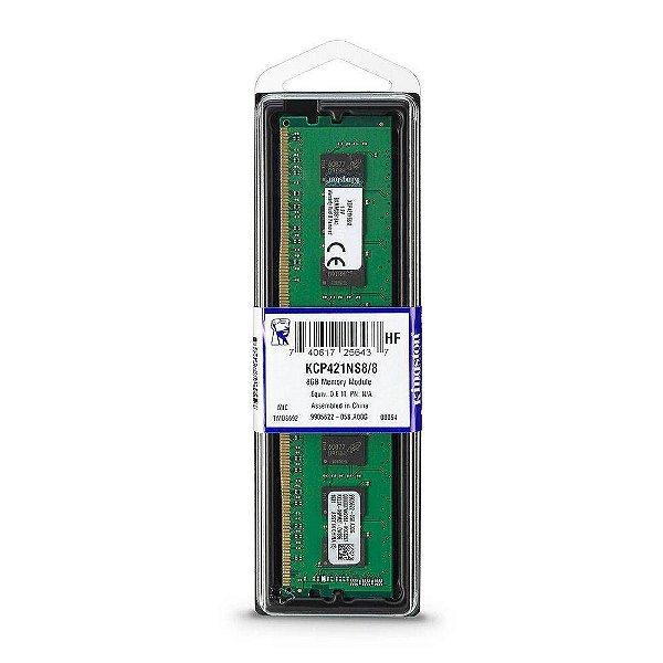 MEMORIA 8GB DDR4 2133MHZ DIMM KCP421NS8/8 KINGSTON BOX
