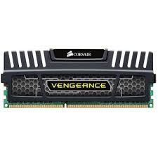 MEMORIA 8GB DDR4 2400 MHZ VENGEANCE CMK8GX4M1A2400C16 PRETO CORSAIR BOX