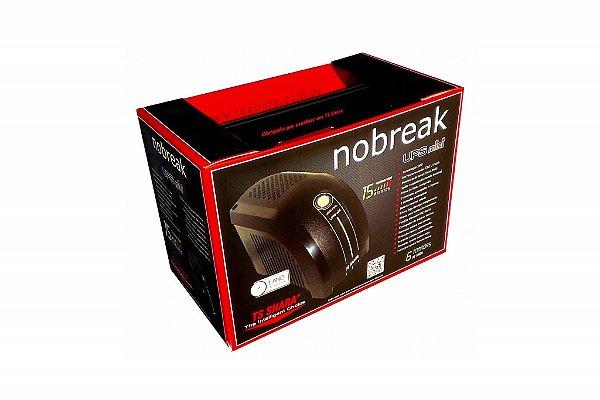NO-BREAK 600VA 4004 UPS MINI MONO PRETO TS SHARA BOX