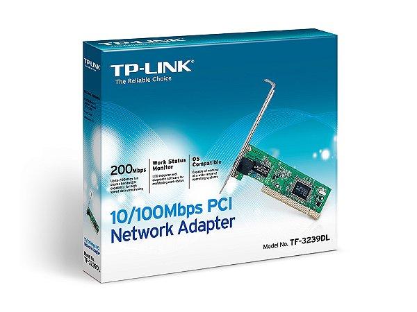 PLACA DE REDE PCI 10/100 TF-3239DL TP LINK BOX IMPORTADO
