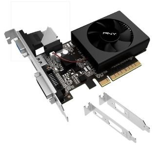 PLACA DE VIDEO 2GB PCIEXP GT 730 VCGGT7302D36LXPB-BB 64BITS DDR3 GEFORCE LP PNY BOX