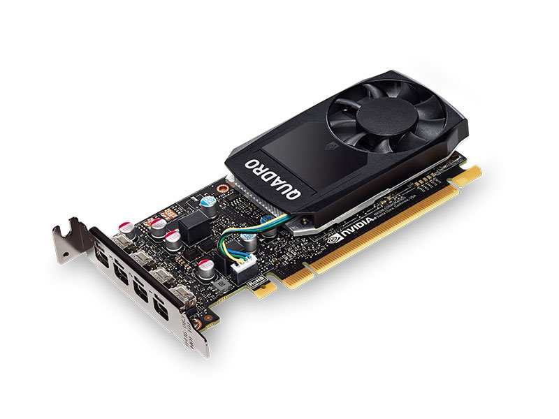 PLACA DE VIDEO 2GB PCIEXP QUADRO P600 VCQP600-PORPB 128BITS DDR5 NVIDIA BOX