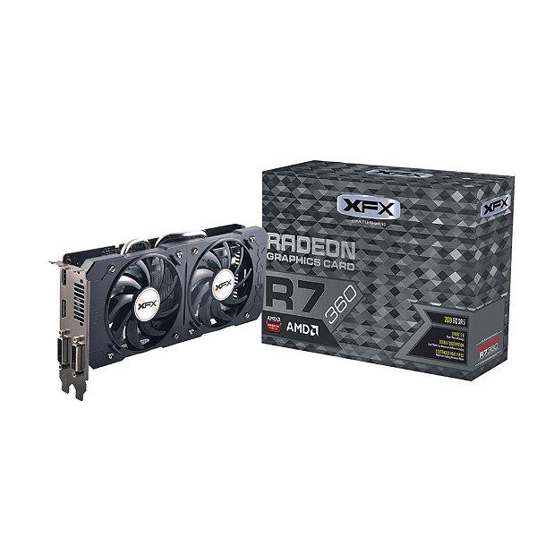 PLACA DE VIDEO 2GB PCIEXP R7 360 R7-360P-2NF5 128BITS DDR5 XFX BOX